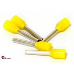 Końcówka tulejkowa PKC108 żółta / 500szt.