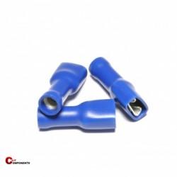 Nasuwka całkowicie izolowana PVC 1,5-2,5 mm niebieski / 1000 szt.