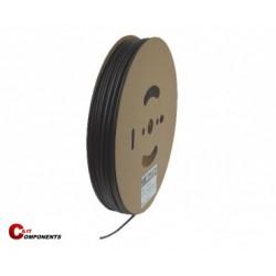 Rurka termokurczliwa 3:1 - CB-DWT9/3 - 50 m na szpuli - czarna - z klejem