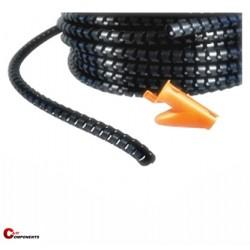 Wężyk ochronny elastyczny WE-20 czarny