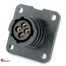Złącze panelowe Toughcon na 4-piny żeńskie - TT1130-S04