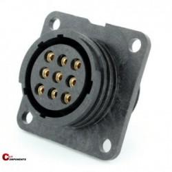 Złącze panelowe Toughcon na 9-pinów żeńskich - TT1730-S09