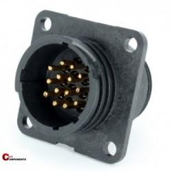 Złącze panelowe Toughcon na 14-pinów męskich - TT1730-P14