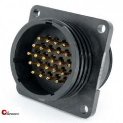 Złącze panelowe Toughcon na 24-piny męskie - TT2330-P24