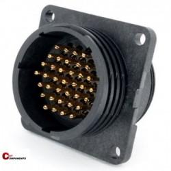Złącze panelowe Toughcon na 37-pinów męskich - TT2330-P37