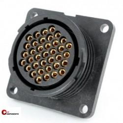 Złącze panelowe Toughcon na 37-pinów żeńskich - TT2330-S37