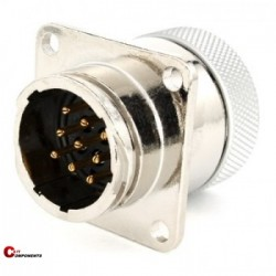 Złącze panelowe Toughcon na 9-pinów męskich- TM1731-P09