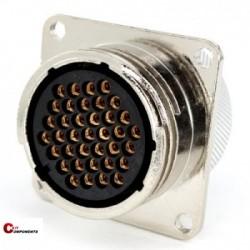 Złącze panelowe Toughcon na 37-pinów żeńskich- TM2331-S37