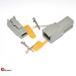Zestaw Deutsch serii DTM 2 pinowy