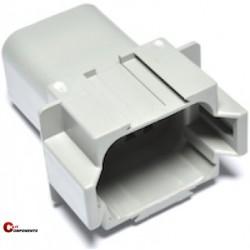 Obudowy na piny męskie Deutsch DT04-08PA - 8 pin