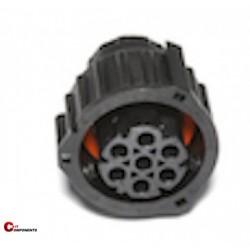 Obudowy na piny żeńskie DIN 72585 7 pin 0-0967650-1