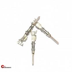 Konektory męskie DIN 72585 1,0-2,5mm2 męski - 2,5mm 0-962972-1