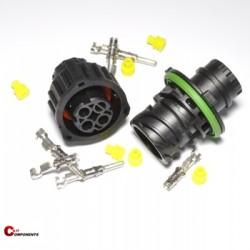 Zestaw złącz DIN 72585 3-pinowy
