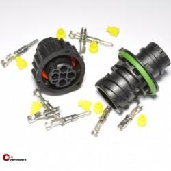 Zestaw złącz DIN 72585 4-pinowy