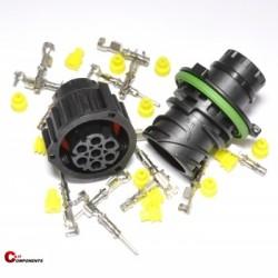 Zestaw złącz DIN 72585 7-pinowy