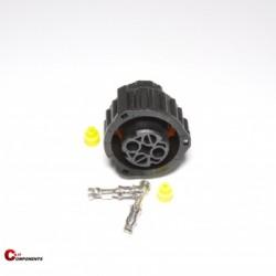 Złącze DIN 72585 na piny żeńskie 2-pinowe