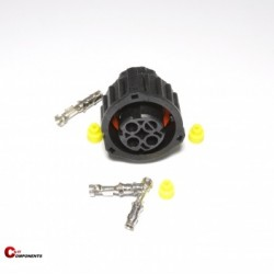 Złącze DIN 72585 na piny żeńskie 3-pinowe