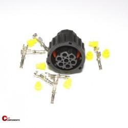 Złącze DIN 72585 na piny żeńskie 7-pinowe