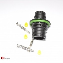 Złącze DIN 72585 na piny męskie 3-pinowe