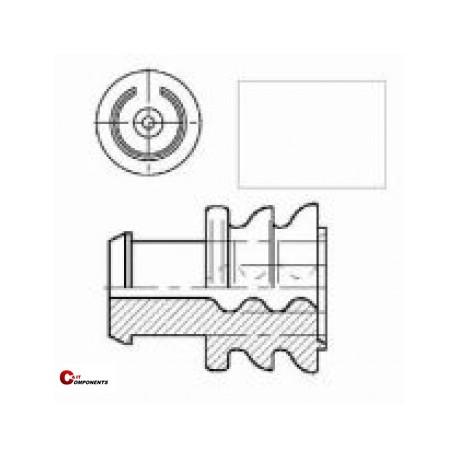 Uszczelki przewodów JPT 1-2.5mm2 biała 0-0828905-1