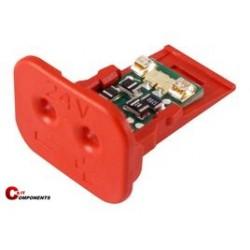 Kliny do obudowy na piny Deutsch W2S-SDT-24V LED czerwony